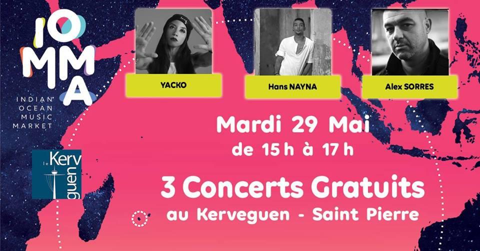 3 concerts gratuits à Saint Pierre
