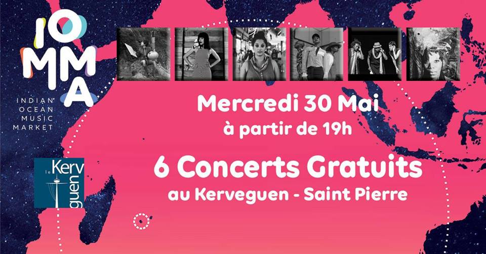 6 concerts gartuits à Saint Pierre