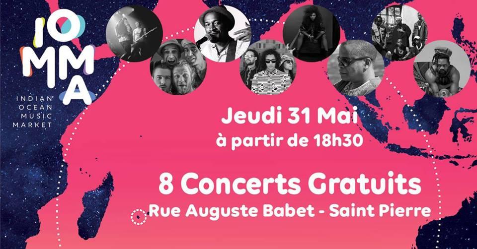 8 concerts gratuits à Saint-Pierre