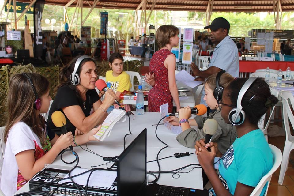 Muriel Enrico dans le Journal du Salon du livre sur Radio Soleil et Radio ACB