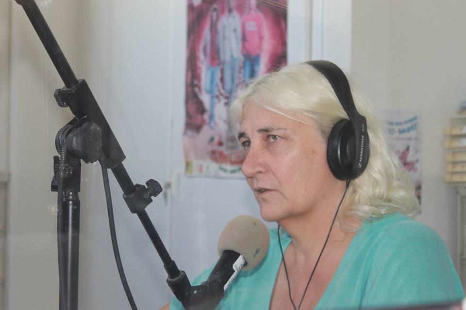 Alexis reçoit Anne Leclaire à Radio Soleil